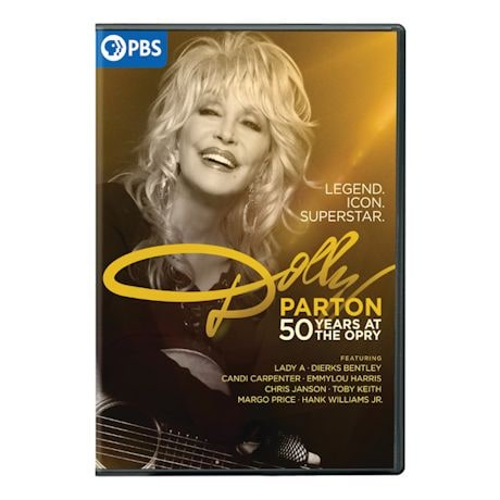 Dolly Parton: 50 Years at the Opry DVD