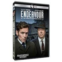 Endeavour Season 7 UK Edition DVD & Blu-Ray
